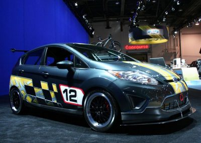 PE3 Powered Race Fiesta at SEMA 2011
