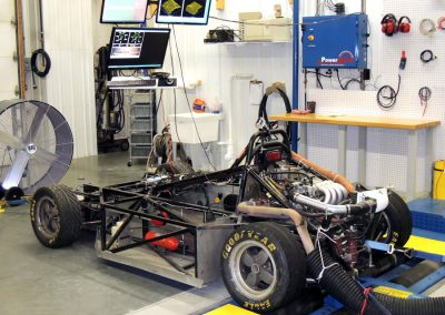 Spec Ford Racer on Dyno with PE3 EFI
