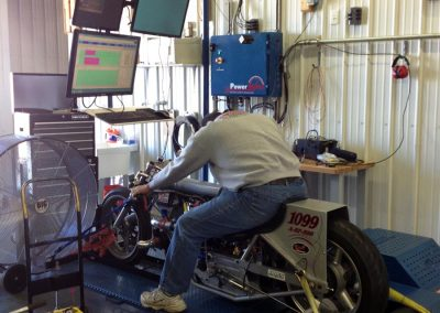 Tuning PE3 on Land Speed Bike
