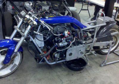 V-Twin Honda Motorcycle Land Speed Bike