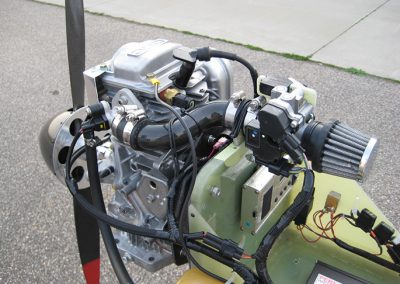 pe powered uav engine