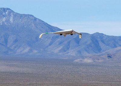 pe3 powered uav landing