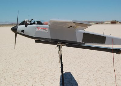 uav powered by pe